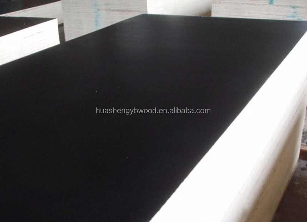 Two time hot press film faced plywood 1220x2440x18mm for concrete formwork