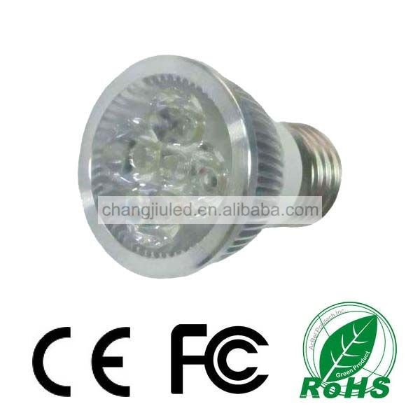 E27 Fitting 100V-245V Light Spot LED 4X1W