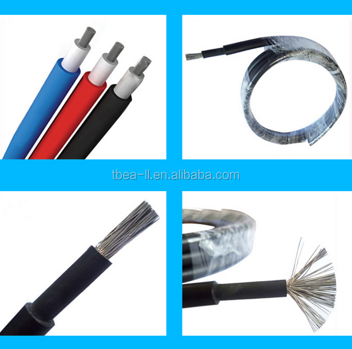 China Manufacturer price Z-PV1-F PV Solar cable /4mm/6mm/10mm/16mm PV Cable