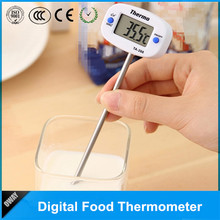 Led display digital cooking probe thermometer for hot water