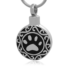 316 Stainless Steel Pet Cremation Jewelry Pet Urn Pendant Memorial Jewelry For Pet