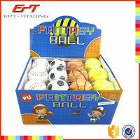 Basketball pu toy tennis ball pu toy baseball pu toy anti stress ball