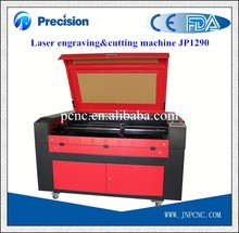 Hot sale 1290 co2 laser engraving cutting machine with low cost for knitting ,rubber,garments,packaging,paper,glass