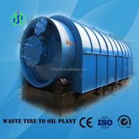 Highest Oil Output Waste Tyre Pyrolysis
