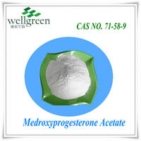 Manufacture high purity API GMP depo Medroxyprogesterone Acetate CAS NO 71-58-9