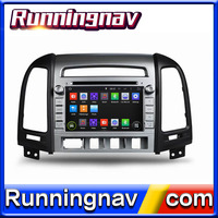 newest car gps multimedia navigator For Hyundai santa fe audio system multimedia comes with ATV bluetooth obd dvd player