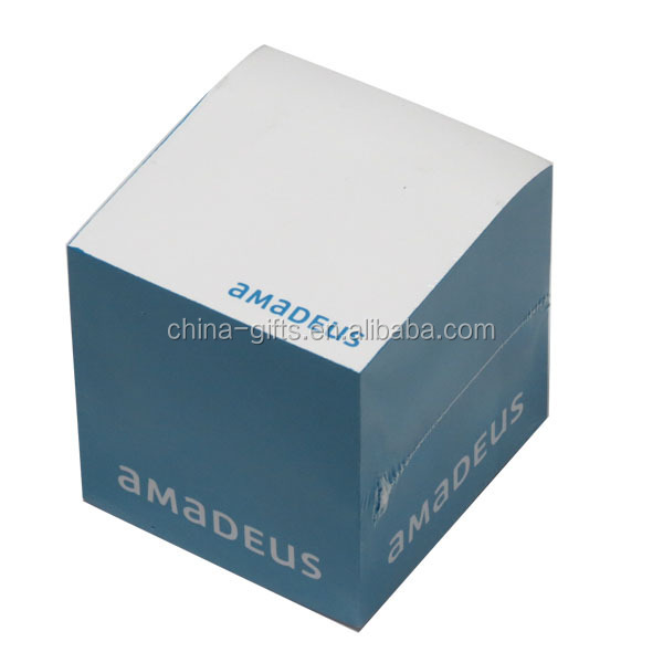 75*75*75mm dark blue memo cube