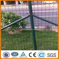 PVC coated garden euro fence net