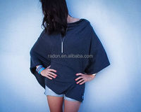 hotsale singapore market baby knit charcoal grey nursing cover for breastfeeding