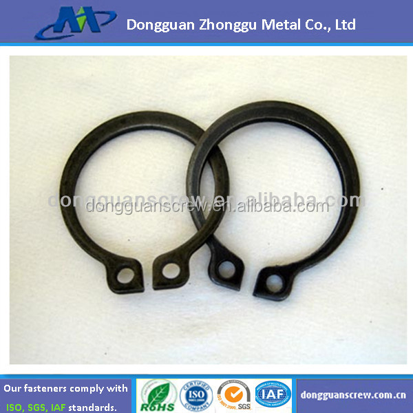 Stainless steel inverted retaining rings internal 11