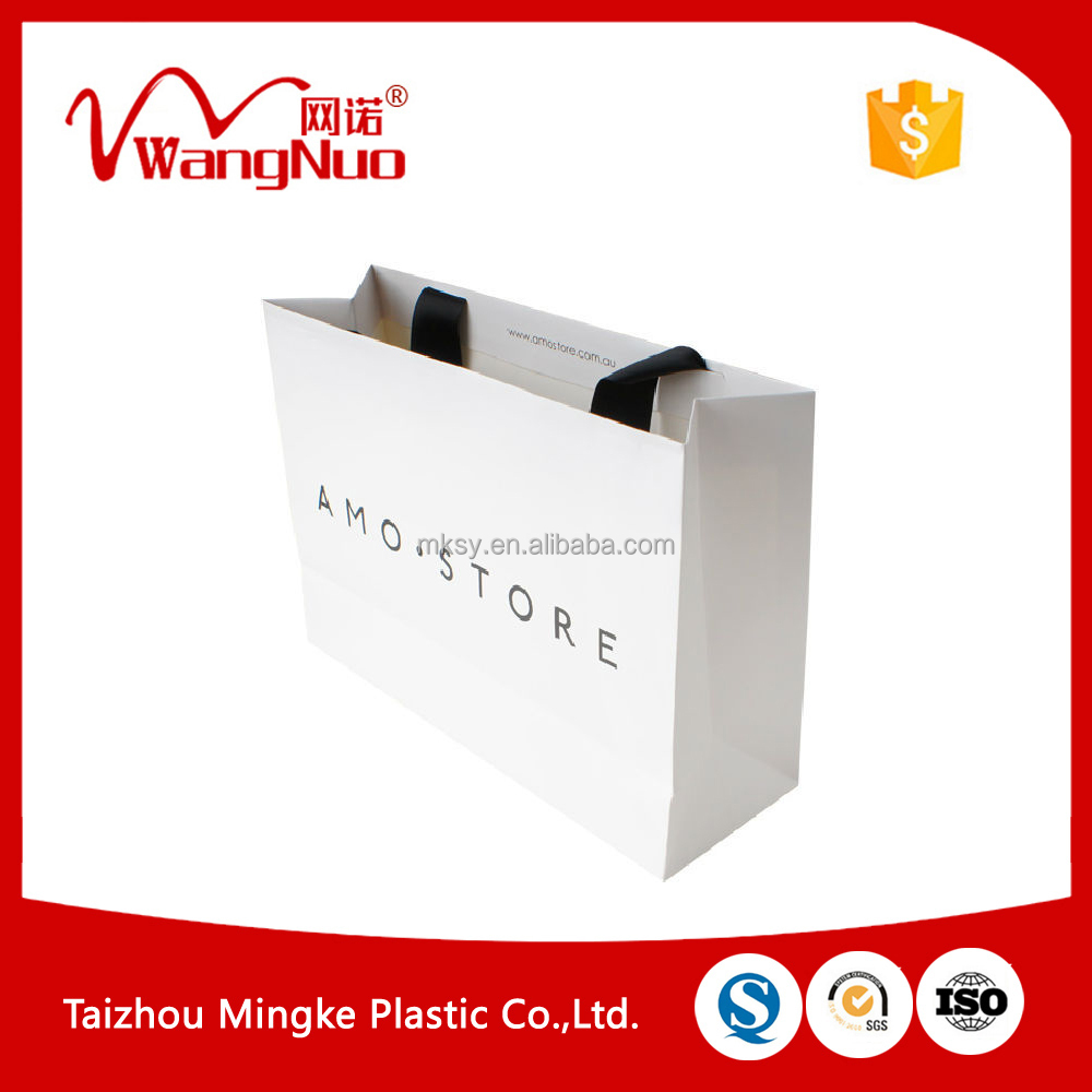 Hot selling retail paper shopping bags with low price