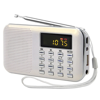 2019 factory portable usb tf card FM AM radio with speaker