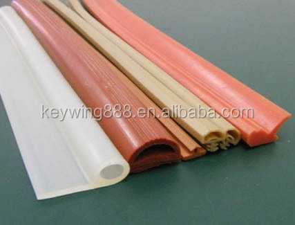 heat resistant custom U shape silicone rubber profile