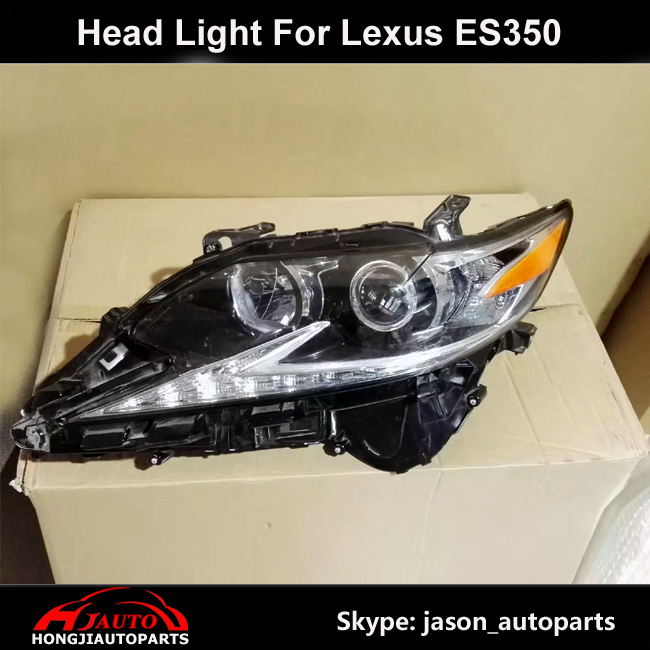 2016 2017 Lexus ES350 LED Halogen Headlight Assembly