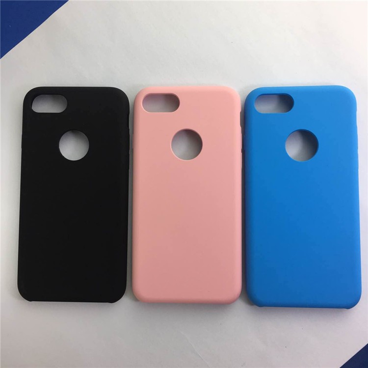 Soft silicone case cover for iphone 7, for iphone 7 plus silicone case