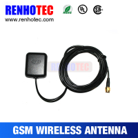 1575.42MHz Magnetic base car active GPS Antenna with SMA connector