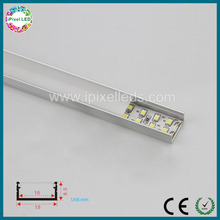6063 Led Strip Aluminum Profile With Diffuser/Transparent PC Cover