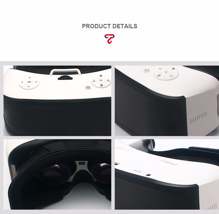 2017 Factory Wholesale 3D vr glasses VR Box 2.0,upgraded all in one vr box