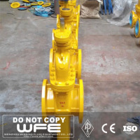 Pipeline Hard Seal Manufacturer With Drain Wedge Gate Valve