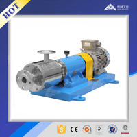 Inline asphalt emulsion making machine