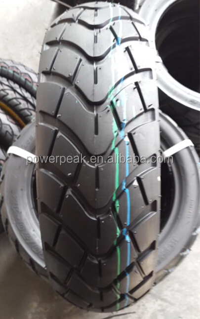 Tire brand for motorcycles 130-70-12 pneumatic without tube