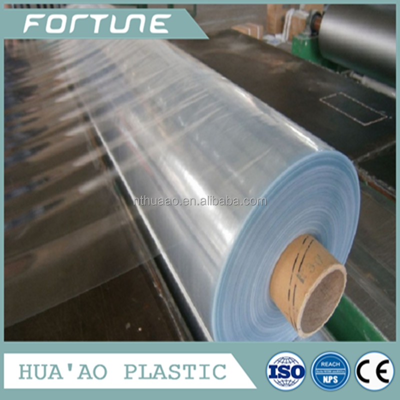 normal transparent plastic clear pvc film for paper file