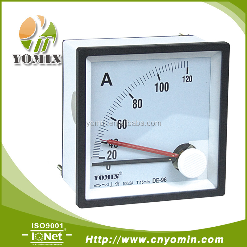 Manufacturer DT-M96 Maximum Demand(MDI) Ammeter 96*96 , Analogue Panel Meter