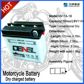 12 Volt batteries for motorcycle use, dry motorcycle battery,motorcycle parts,storage battery for motorcycle