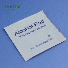 cleaning alcohol pad for external use