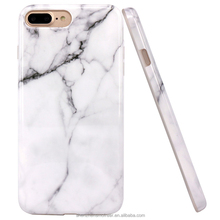 Painted marble soft TPU phone case for iPhone 7 plus 6 6s, creative mobile phone protective cover
