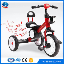 2016 newest model music and light function child tricycle / children tricycle/baby tricycle