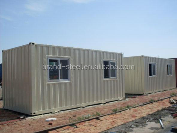 best price sandwich panel steel structure 20FT living container house