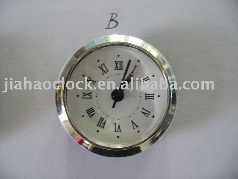 Clock insert (JH-50B:Non-alarm) insert clock for insert clock wholesaler