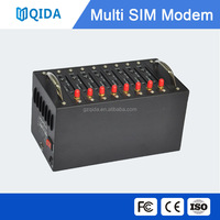 16 port bulk sms mms sending modem pool, usb wavecom gsm modem in low cost