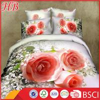 100% polyster 3d printed microfiber comforter set,new design best selling king size bed cover set