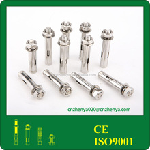 China factory carbon steel and stainless steel recessed anchor
