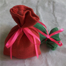 gift jute bags wedding/jute hessian cloth bags burlap/printing machine for jute bags