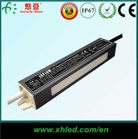 Outdoor IP67 AC DC 12V 24V Waterproof LED Driver for led strip light