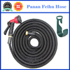 small manufacturing ideas expandable water hose/latex inner water magic garden hose/USA type garden hose with function guns
