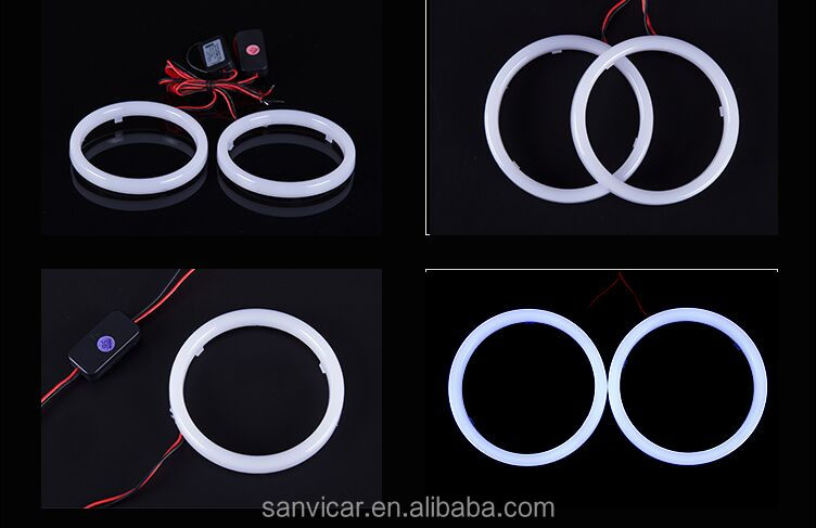 Guangzhou DC12V 0.7W LED Rings for Car Light LED Angel Eye Cotton Angel Eye