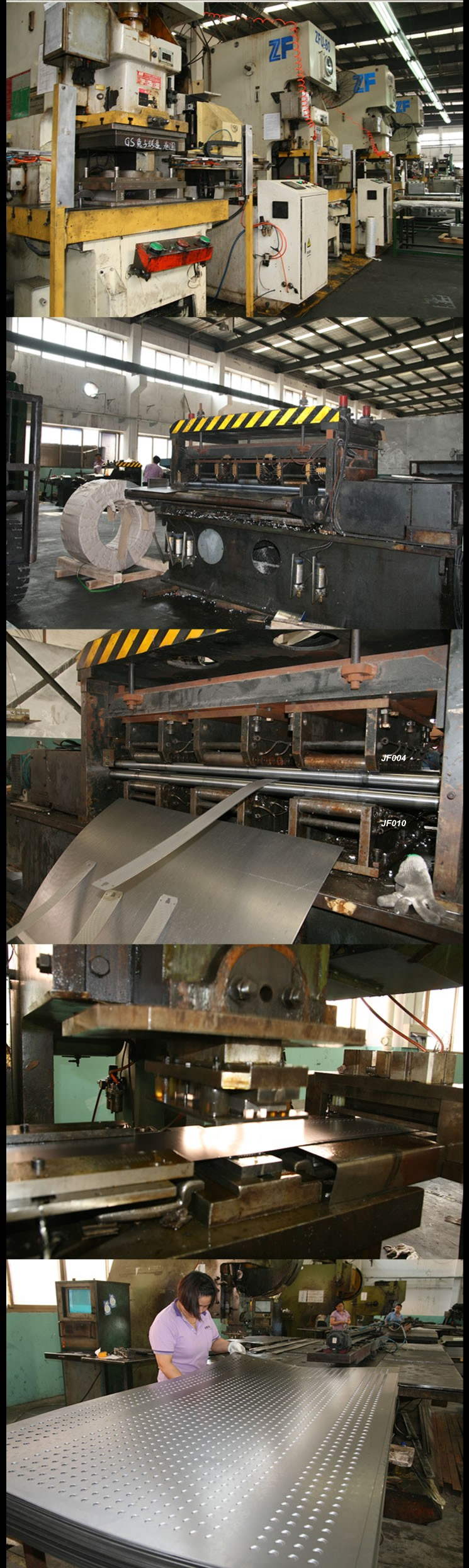 stainless steel punch plate stainless Punch Plate 304 Perforated plates