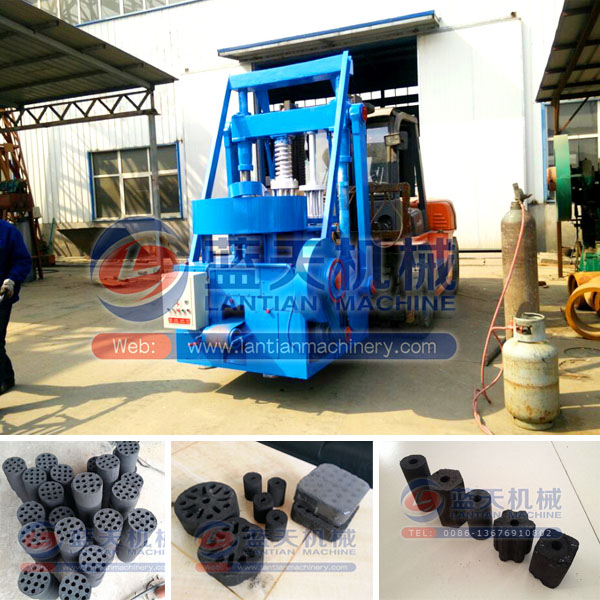 Punch Type Artificial Coal Briquette Machine Price Honeycomb Coal Dust Briquette Making Machine Coal Honeycomb Briquette Machine