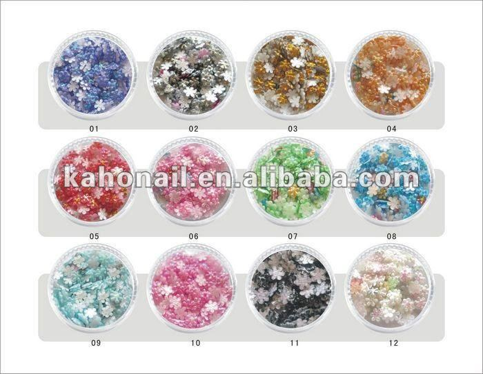 kaho art nail factory wholesale all kinds of nail art accessory high-quality lk cosmetics korea