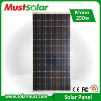 Competitive Price 250W Solar Panel for Home Solar System