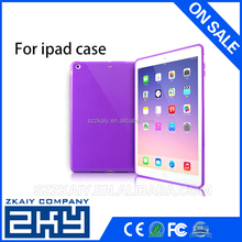 Wholesale Product Factory Cheap Price Transparent Soft TPU Case for iPad air 2, for apple iPad air 2 Case