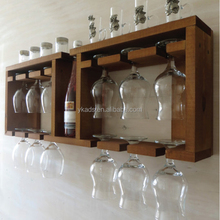Customized Color wine glass holder on wall