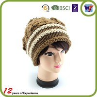 Custom Winter Knitted Wool Hat Knitted Beanie Hat