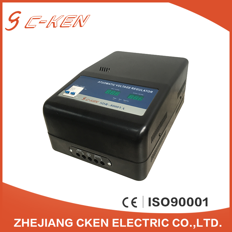 Cken China Alibaba Customize TSD Single Phase Intelligent AC Automatic Voltage Stabilizers with CE Professional Standards