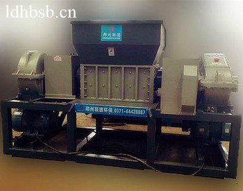 sold well waste plastic/rubber tire crusher shredder machine for sale