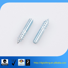 Galvanized steel rods with one side thread